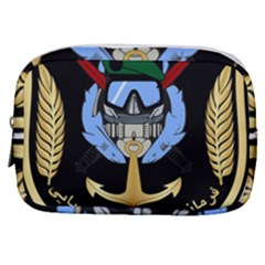 Iranian Naval Commandos Command Insignia Make Up Pouch (small) by abbeyz71