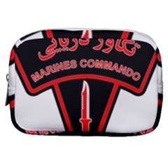 Marines Commando Of The Iranian Navy Badge Make Up Pouch (small) by abbeyz71