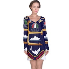 Iranian Navy Marine Corps Badge Long Sleeve Nightdress by abbeyz71