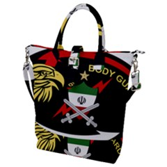 Iranian Army Bodyguard Badge Buckle Top Tote Bag by abbeyz71