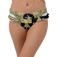 Iranian Air Force F-4 Fighter Pilot Wing Frill Bikini Bottom by abbeyz71
