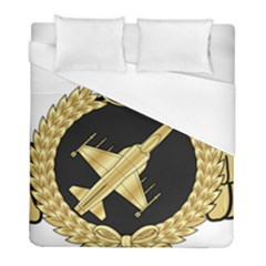 Iranian Air Force F 5 Fighter Pilot Wing Duvet Cover (full/ Double Size) by abbeyz71