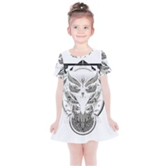 Owl Kids  Simple Cotton Dress