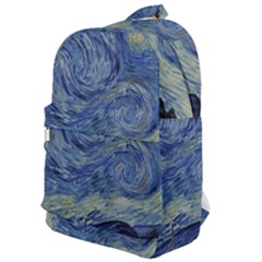 The Starry Night Starry Night Over The Rhne Pain Classic Backpack