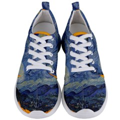 The Starry Night Starry Night Over The Rhne Pain Men s Lightweight Sports Shoes
