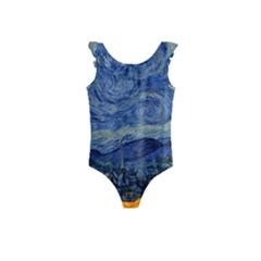 The Starry Night Starry Night Over The Rhne Pain Kids  Frill Swimsuit
