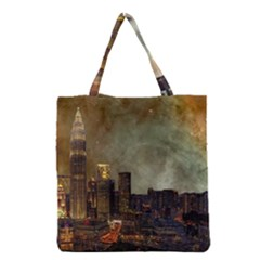 Big City Anorama Grocery Tote Bag by Pakrebo