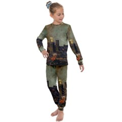 Big City Anorama Kids  Long Sleeve Set