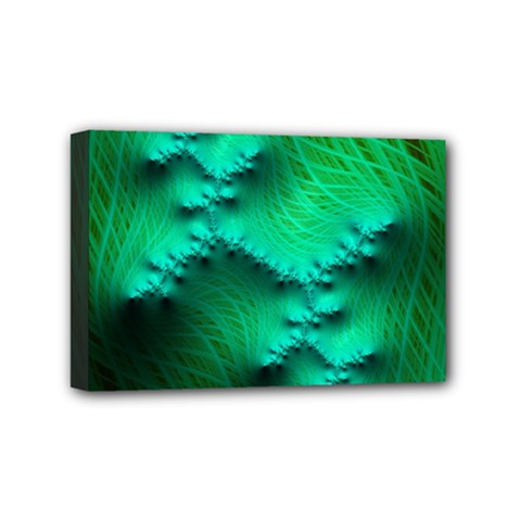Fractal Maths Design Backdrop Mini Canvas 6  X 4  (stretched)