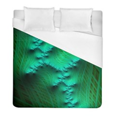 Fractal Maths Design Backdrop Duvet Cover (full/ Double Size)