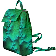 Fractal Maths Design Backdrop Buckle Everyday Backpack