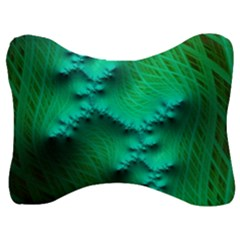 Fractal Maths Design Backdrop Velour Seat Head Rest Cushion