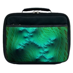 Fractal Maths Design Backdrop Lunch Bag
