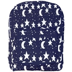 Starry Night Cartoon Print Pattern Full Print Backpack by dflcprintsclothing