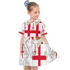 Coat Of Arms Of The City Of London Kids  Sailor Dress by abbeyz71