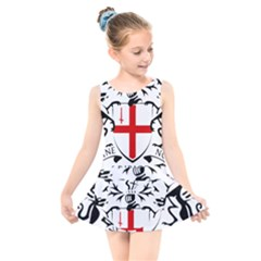 Coat Of Arms Of The City Of London Kids  Skater Dress Swimsuit by abbeyz71