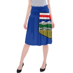 Flag Of Alberta Midi Beach Skirt