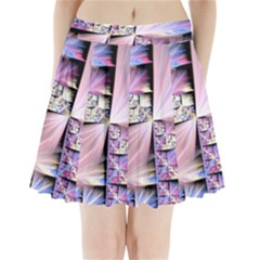 Fractal Art Artwork Digital Art Pleated Mini Skirt