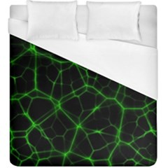 System Web Network Connection Duvet Cover (king Size) by Pakrebo