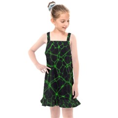System Web Network Connection Kids  Overall Dress