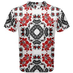 Ornament Seamless Pattern Element Men s Cotton Tee