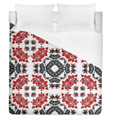 Ornament Seamless Pattern Element Duvet Cover (queen Size)