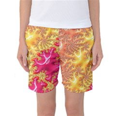 Fractal Math Mathematics Science Women s Basketball Shorts