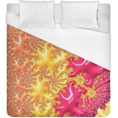 Fractal Math Mathematics Science Duvet Cover (king Size) by Pakrebo