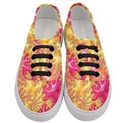Fractal Math Mathematics Science Women s Classic Low Top Sneakers