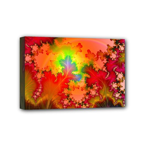 Background Abstract Color Form Mini Canvas 6  X 4  (stretched)