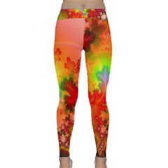 Background Abstract Color Form Classic Yoga Leggings