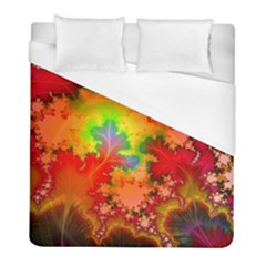 Background Abstract Color Form Duvet Cover (full/ Double Size)