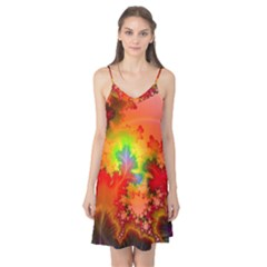 Background Abstract Color Form Camis Nightgown