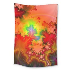 Background Abstract Color Form Large Tapestry