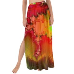 Background Abstract Color Form Maxi Chiffon Tie Up Sarong