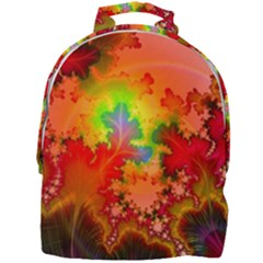 Background Abstract Color Form Mini Full Print Backpack