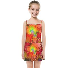 Background Abstract Color Form Kids  Summer Sun Dress