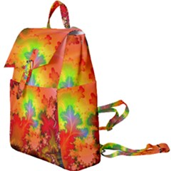 Background Abstract Color Form Buckle Everyday Backpack