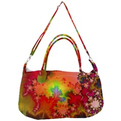 Background Abstract Color Form Removal Strap Handbag