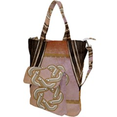 Decorative Celtic Knot Shoulder Tote Bag