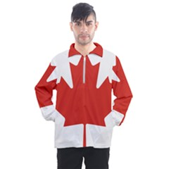 National Flag Of Canada Men s Half Zip Pullover