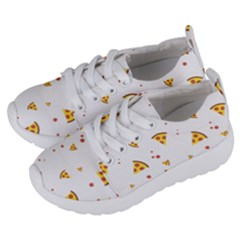 Pizza Pattern Pepperoni Cheese Funny Slices Kids  Lightweight Sports Shoes by genx