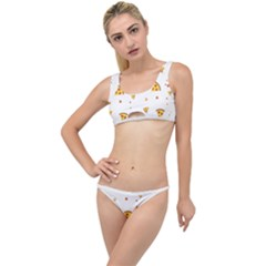 Pizza Pattern Pepperoni Cheese Funny Slices The Little Details Bikini Set by genx