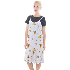 Pizza Pattern Pepperoni Cheese Funny Slices Camis Fishtail Dress by genx