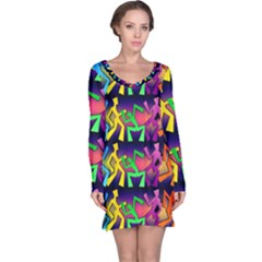 Dancing Long Sleeve Nightdress
