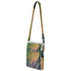 Modern Colorful Abstract Art Multi Function Travel Bag by tarastyle