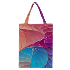 Modern Colorful Abstract Art Classic Tote Bag
