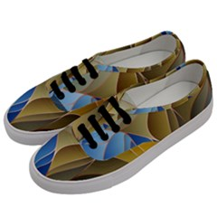 Modern Colorful Abstract Art Men s Classic Low Top Sneakers by tarastyle