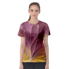 Modern Colorful Abstract Art Women s Sport Mesh Tee