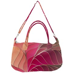 Modern Colorful Abstract Art Removal Strap Handbag
